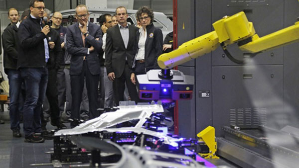 Opel Automated Sheet Metal Inspection using ATOS ScanBox