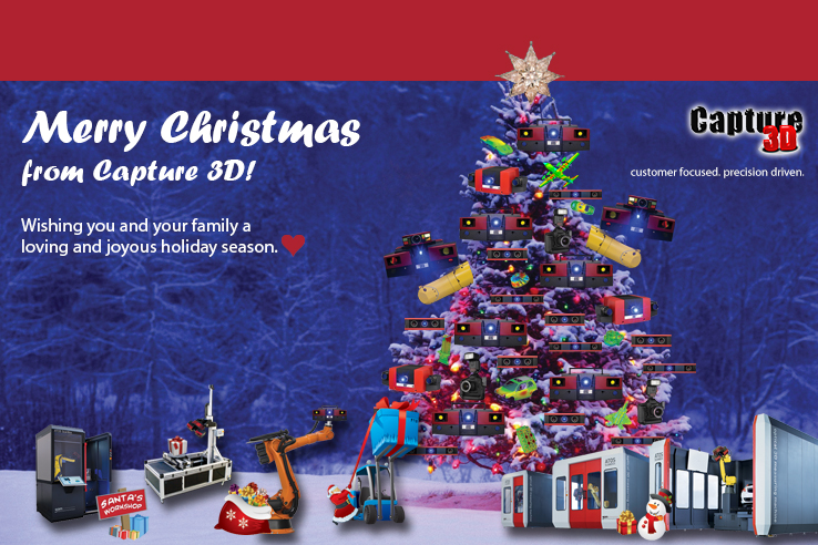 Merry Christmas from Capture 3D!