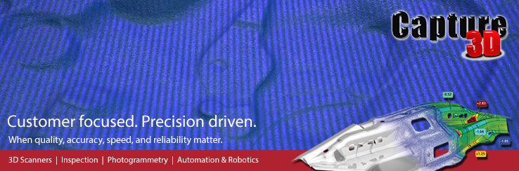 Capture 3D Newsletter   3D Scanning, Inspection, Photogrammetry, Automation and Robotics