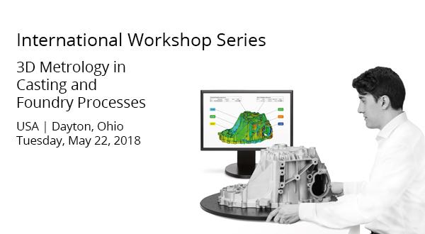 Capture 3D GOM Casting Workshop | Dayton, Ohio | May 22, 2018