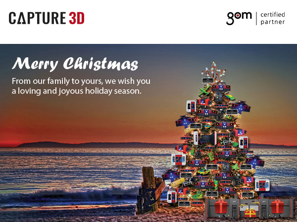 Merry Christmas from Capture 3D
