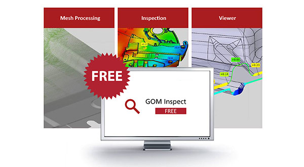 Free GOM Inspect Software