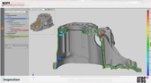 ATOS Casting 3D scanning and inspection workflow