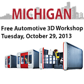 Free Michigan Automotive 3D Workshop
