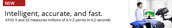 ATOS 5 and 5X - measures in 0.2 seconds