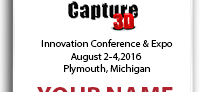 Capture 3D Innovation Conference 2016