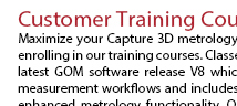 Capture 3D Training Courses 2016