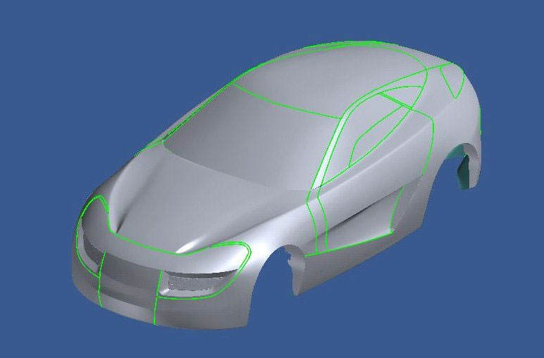 Rivage - Development of a Show Car