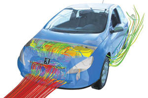 Automotive Design Computational Fluid Dynamics