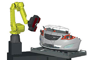 3D Scanner for Molded Parts Inspection