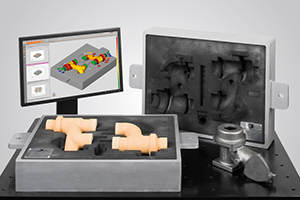 3D Scanner for Sand Core Digital Assembly Analysis