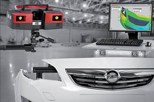3D Scanner with Inspection to CAD