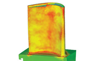 Airfoil Coating Thickness Measurements with 3D Scanning
