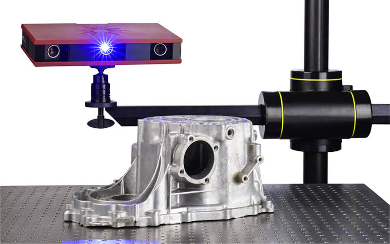 ATOS Core coordinate measuring of casted part