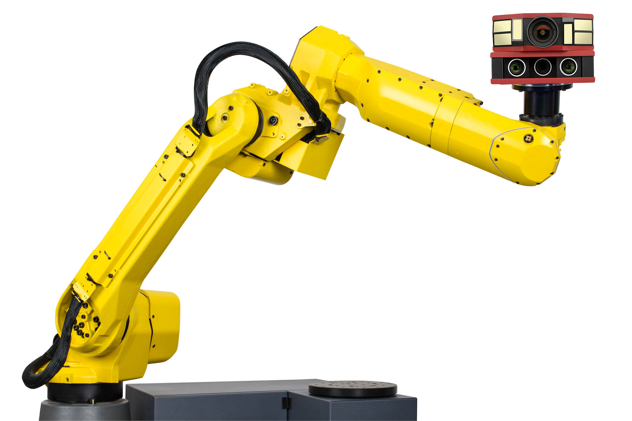 ATOS Core Kinematics with ATOS Plus for automated photogrammetry, 3D scanning, and inspection.