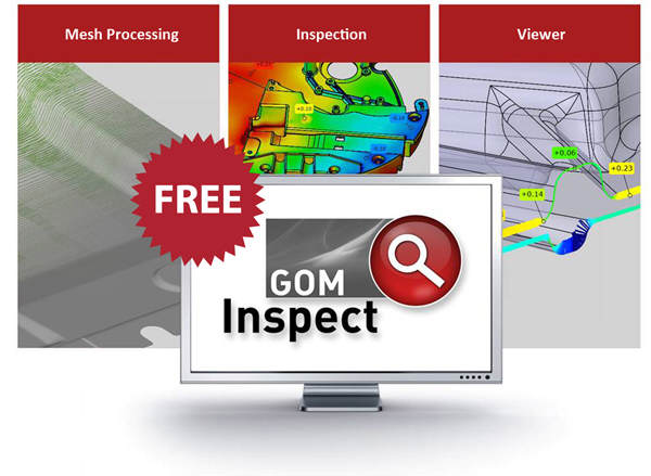 GOM Inspect - Free Inspection Software