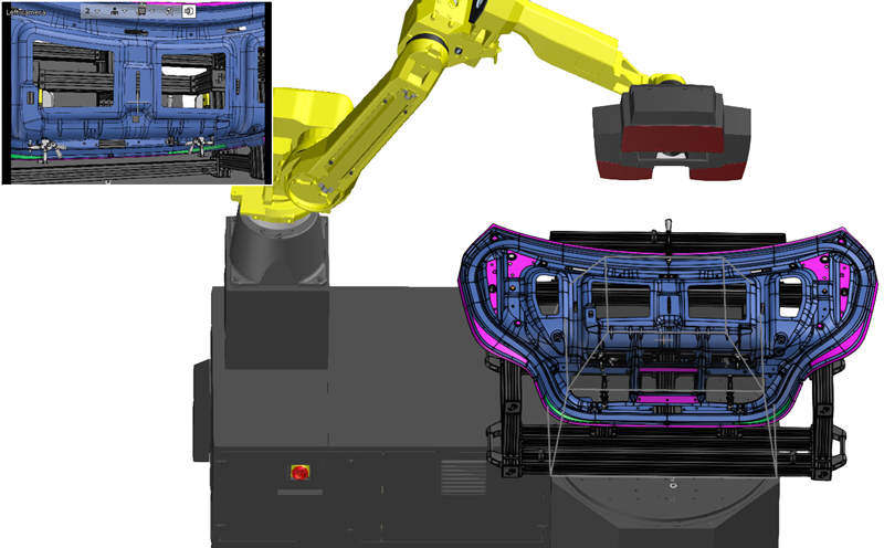 VMR - Virtual Measuring Room for automated 3D scanning and inspection analysis