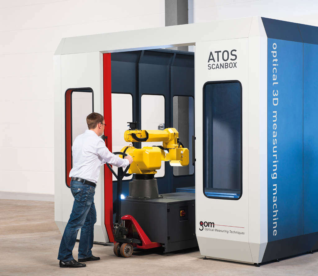ATOS ScanBox - Commercial Off The Shelf (COTS) Automated Precision Inspection Solution for Rapid Deployment