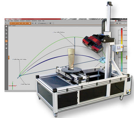 Capture 3D ATOS MC-XL automated multi-axis motion control 3D scanning and inspection system