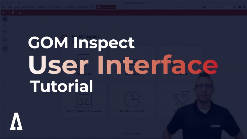 Getting Started with the GOM Software User Interface