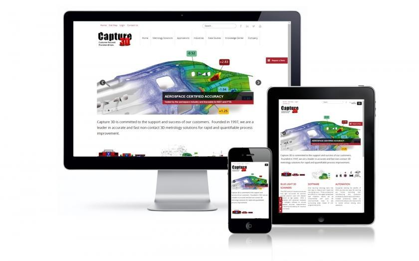 Capture 3D New Website