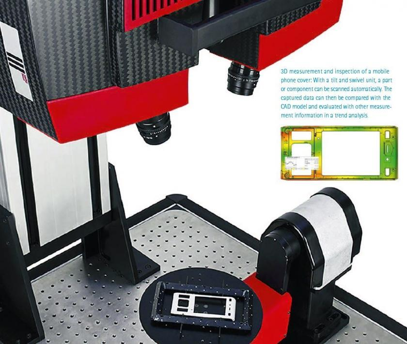 Mobile Scanning without Limits for Injection Mold Plastics