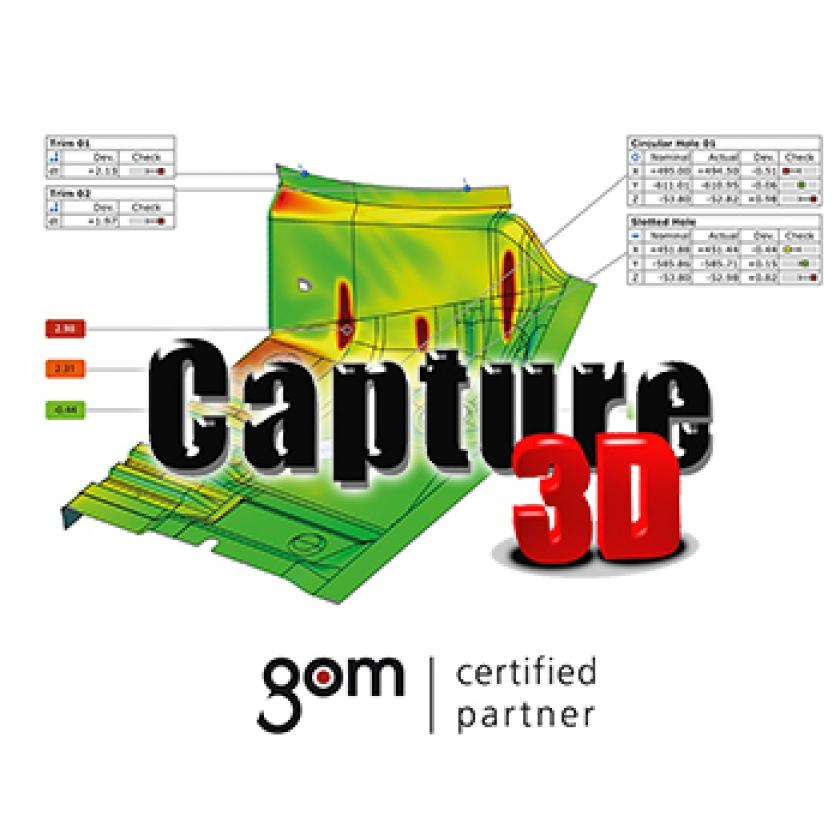 Capture 3D Hosts GOM Global Sheet Metal Workshop in Murfreesboro, Tennessee