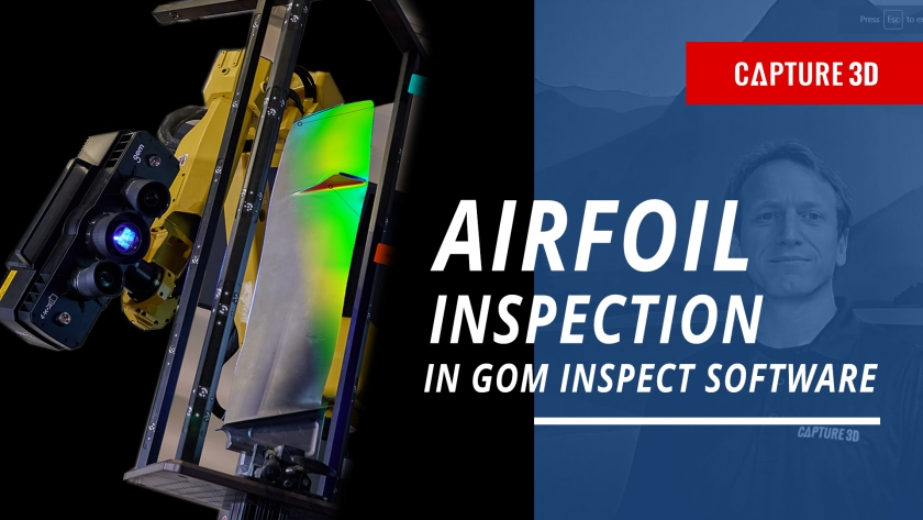 How to Save Time on Airfoil Inspection with GOM Inspect Software