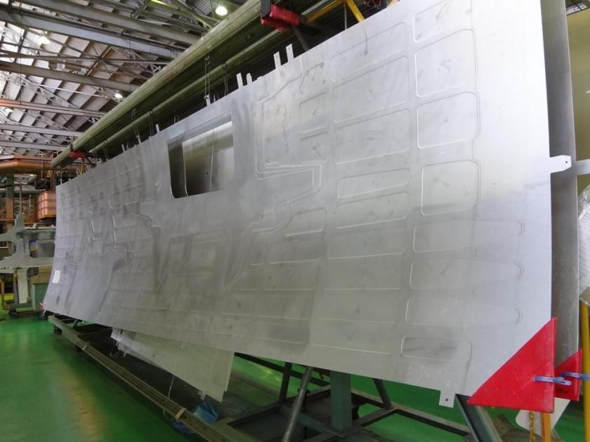 Mitsubishi Heavy Industries | High Precision Aircraft Skin Panel Production with Digital Manufacturing Processes