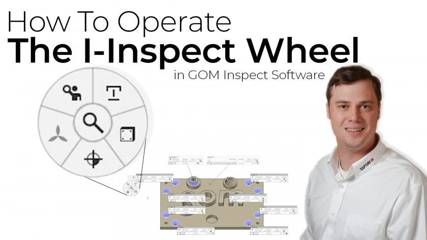 How to Operate the I-Inspect Wheel within GOM Software