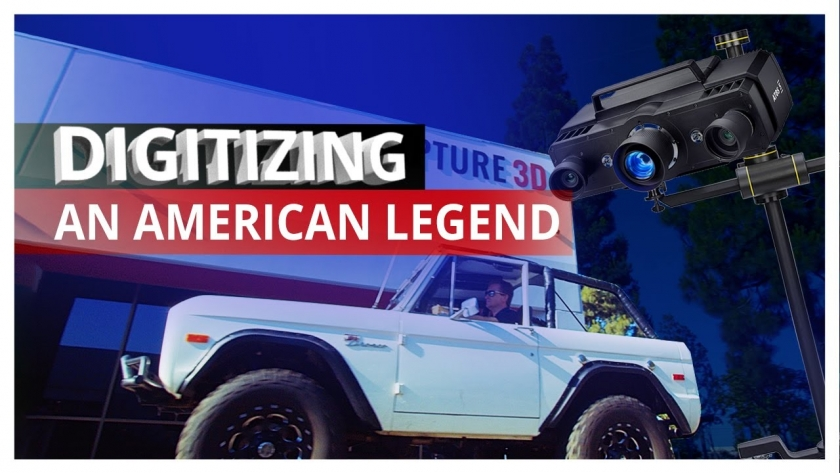 Digitizing an American Legend: 1976 Ford Bronco with TRITOP and ATOS