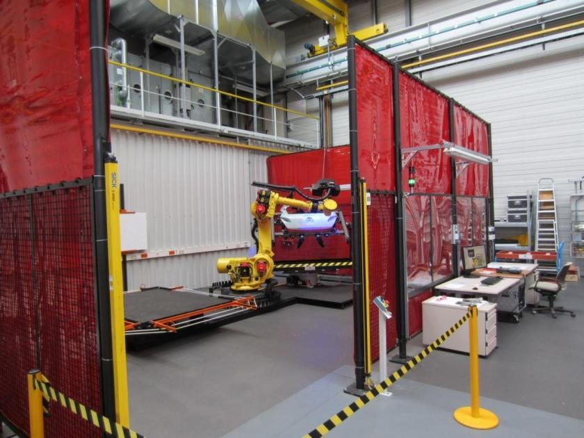 Opel | Automated Inspection - Standardized Scanning Cell in Opel/Vauxhall Body Shops