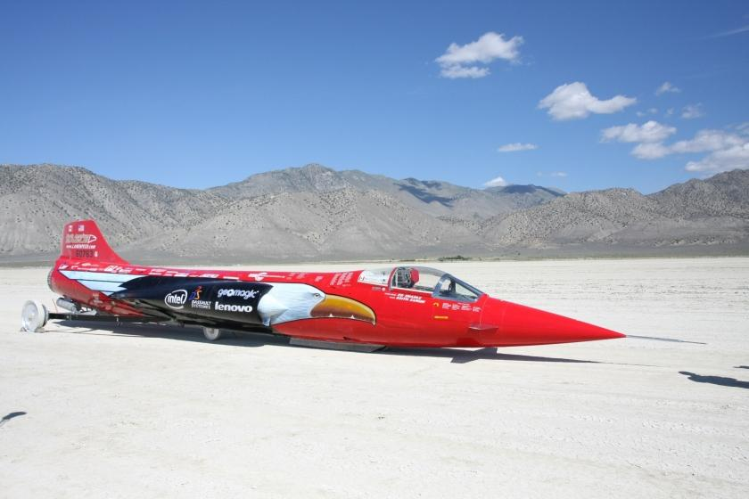 North American Eagle | Challenging the 763 mph World Land Speed Record