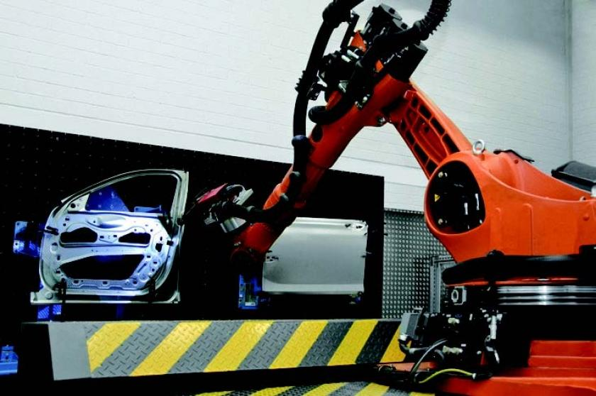 BMW | Automated Robot Inspection Cell for Quality Control ...