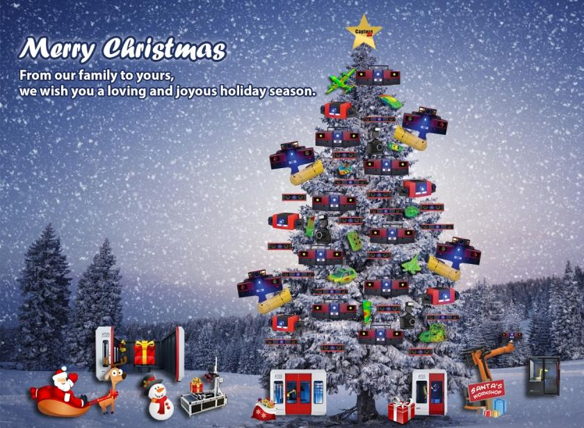 Merry Christmas and Happy Holidays from Capture 3D!