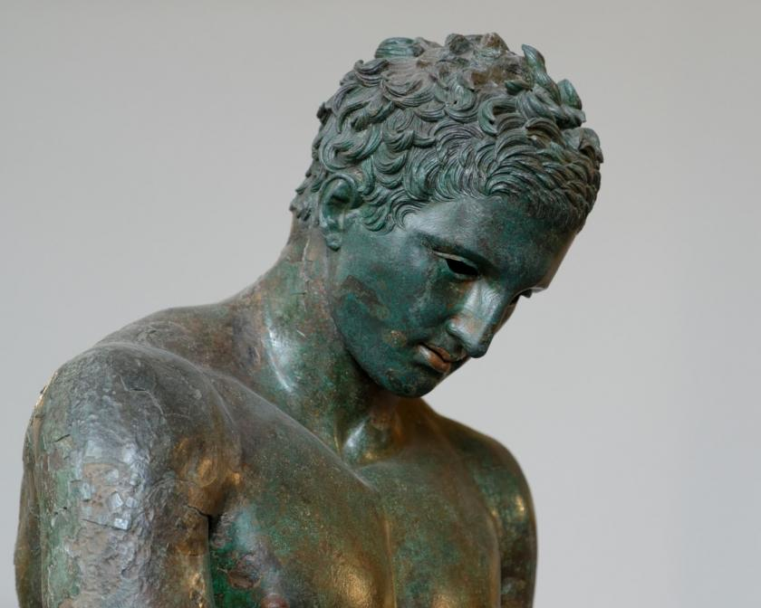 Croatian Conservation Institute | Digitizing of the ancient bronze sculpture of Apoxyomenos