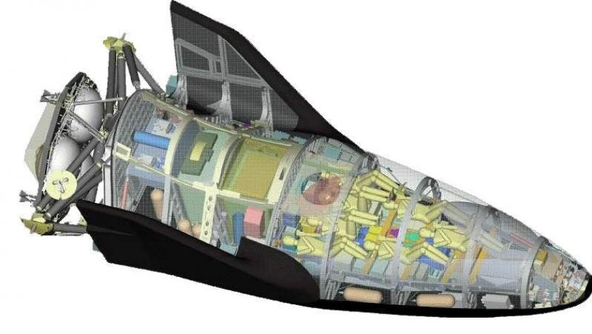 NASA | 3D Digitizing of the X-38 Space Vehicle