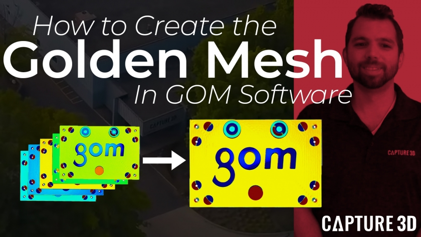 How to Create an Average Mesh in GOM Software