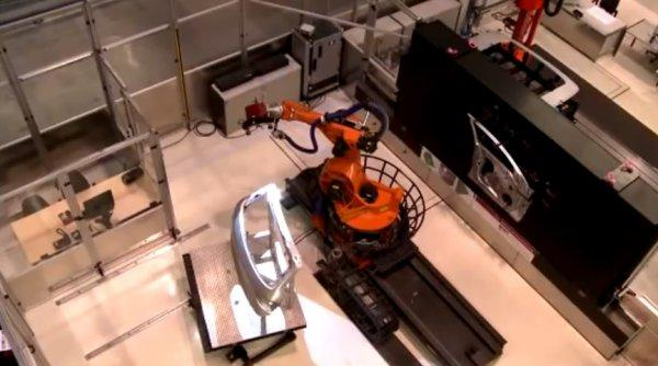 ATOS Custom Robotic Cell with Gantry for 3D Scanning and Inspection