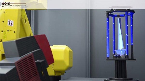 ATOS ScanBox 5108 - Turbine Blade Automated Inspection