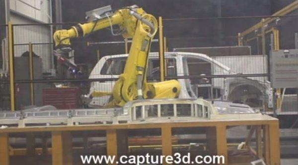 ATOS Custom Robotics Automation for Automotive 3D Scanning and Inspection