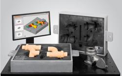 ATOS 3D scanner sand core measurement