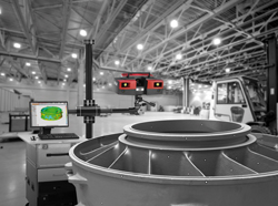 ATOS large casting 3D scanning and inspection